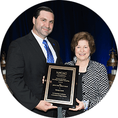 The John B. Muir Editor's Award recognizes authors who have made the most significant contributions to NACAC's Journal of College Admission during the preceding year. The award is named for John Burke Muir, who was NACAC vice president for publication and research from 1983-1986.